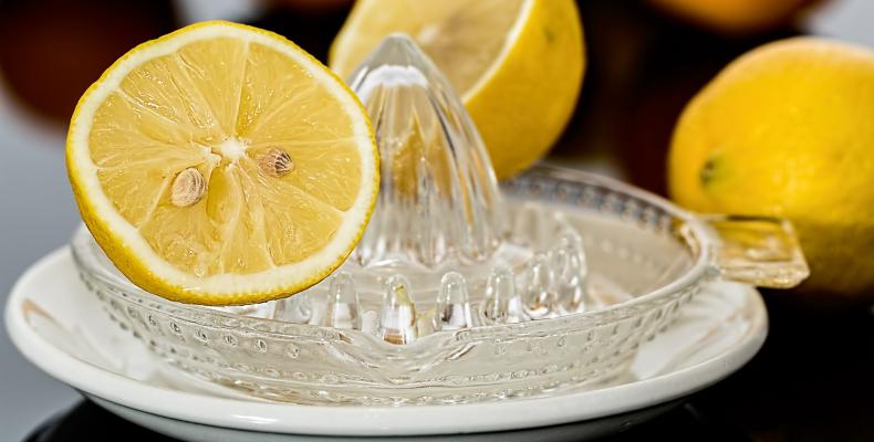 Sok z cytryny przechowywanie - soki wyciskane