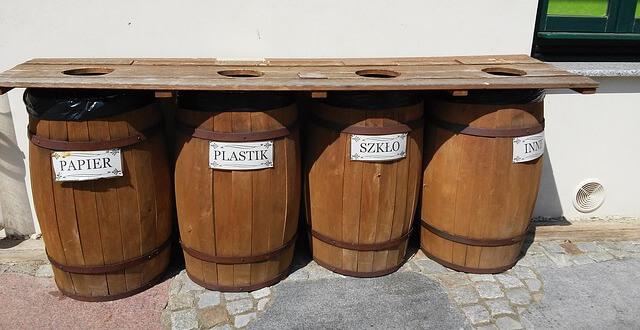 bycie eko - segregacja śmieci