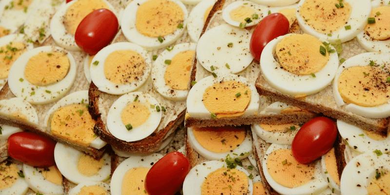 Potrawy wielkanocne z jajek