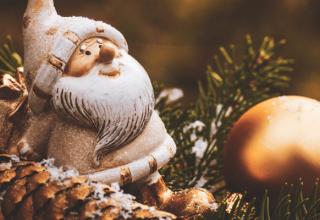 Ozdoby z szyszek na Boże Narodzenie