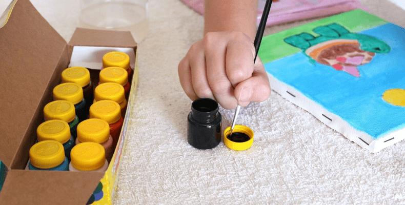 Spędzanie wolnego czasu - malowanie