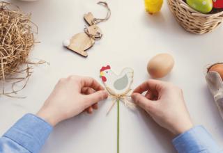 Własnoręczne ozdoby wielkanocne - jak je zrobić