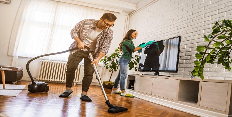 dbanie o czystość