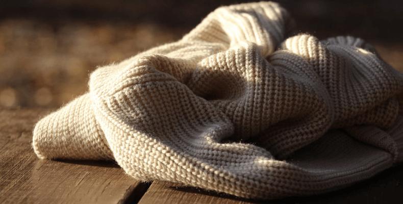 pranie swetrow