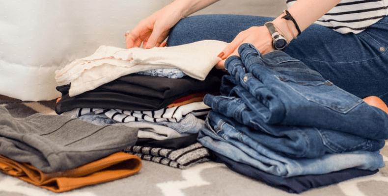 segregowanie ubrań